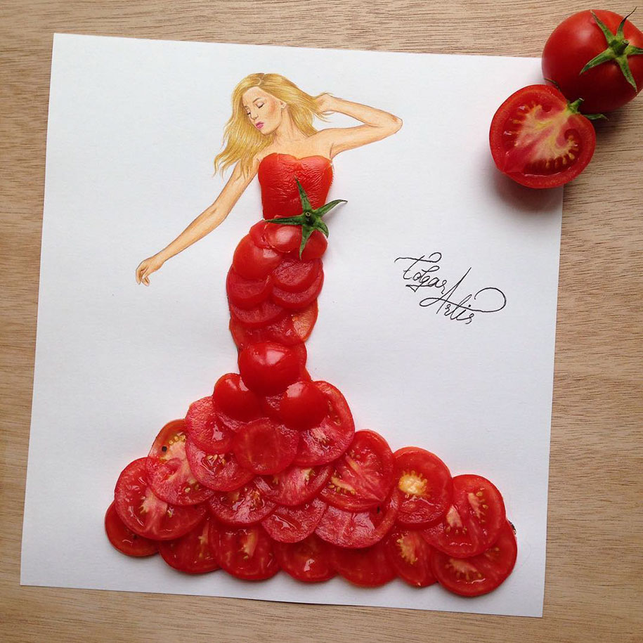 Amazing Dress Designs Using Everyday Objects