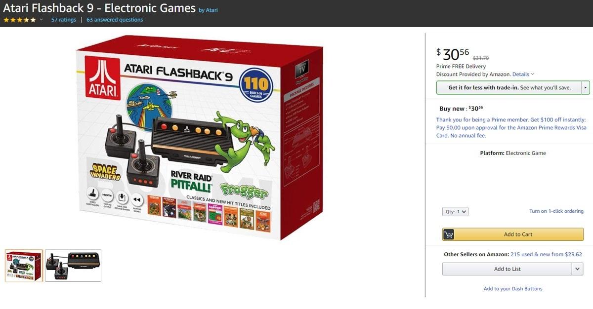 Geek Insider - Atari Flashback 9 Game Console