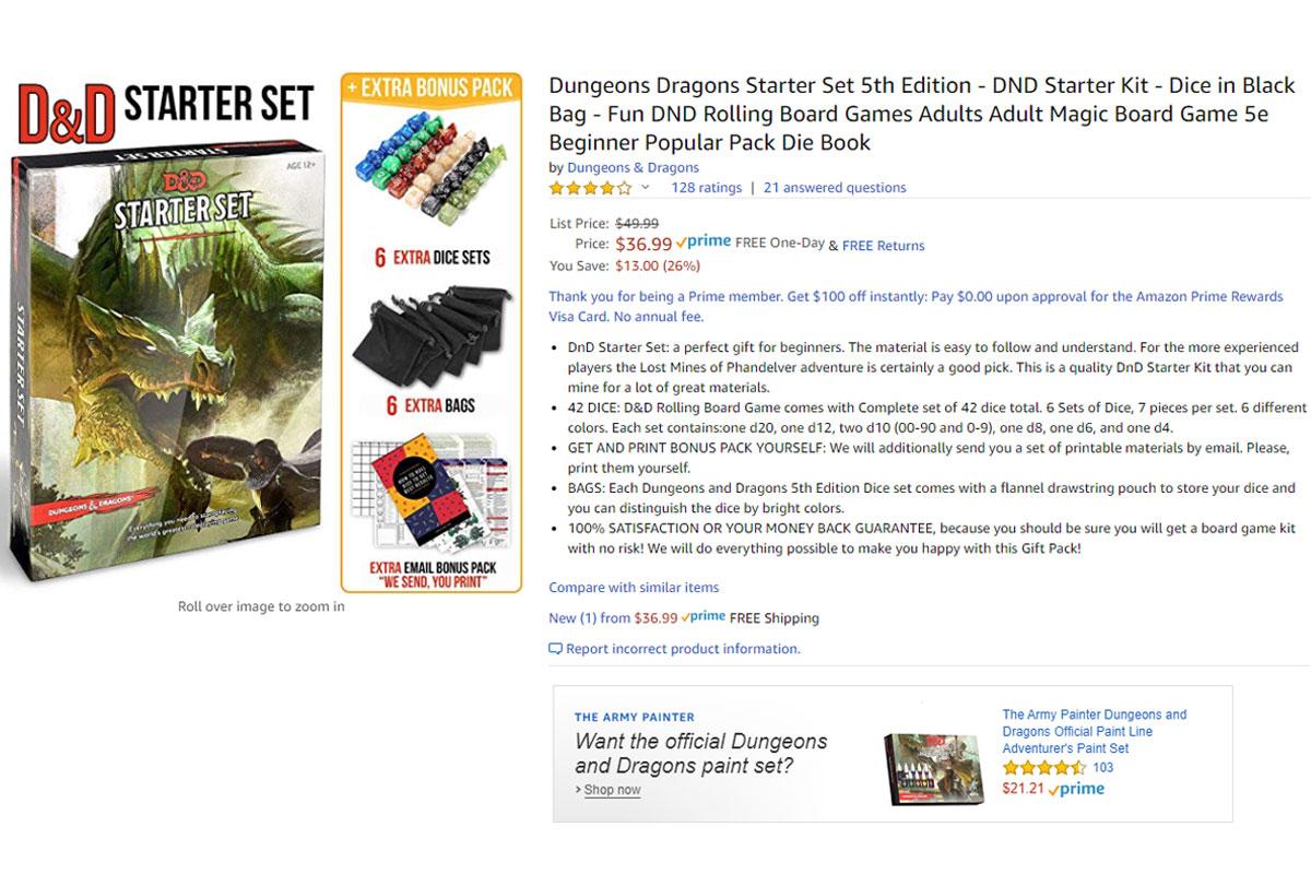 Geek Insider - Dungeons & Dragons (DnD) Starter Set