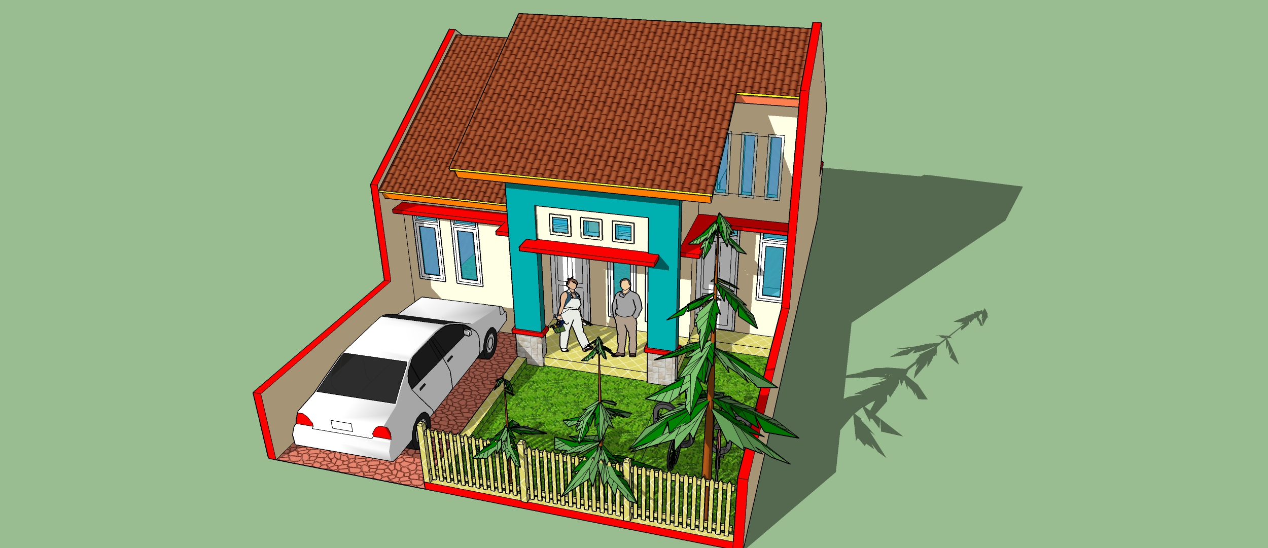 Sketchup Tutorial Making A Minimalist One Floor Home Whaleshares