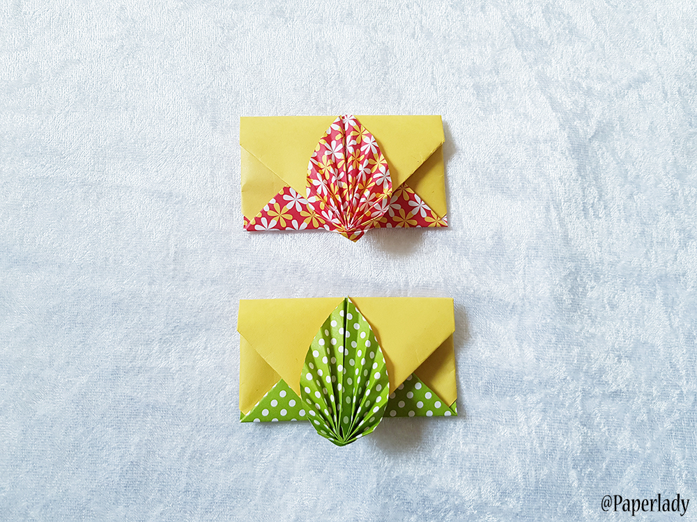 Origami Envelope Instructions | Free Printable Papercraft Templates | 750x1000